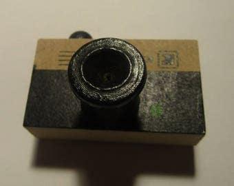 Wooden Stamp 46mm28mmx35mm Shape Camera