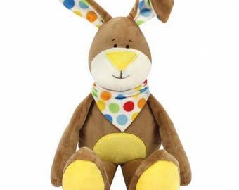 Plush Brown rabbit Kullaloo Kit
