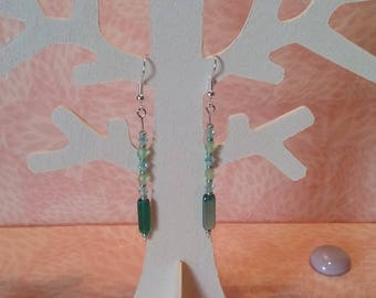 Earrings - Emerald