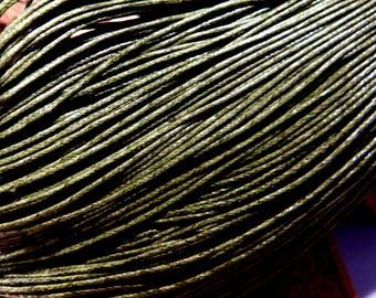 10 cotton thread 1 mm khaki 3 meter