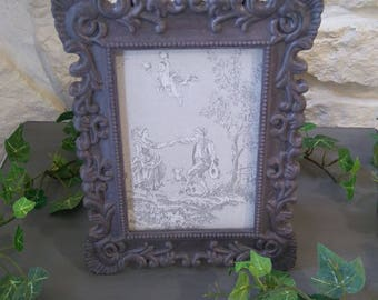 frame baroque to put the old weathered