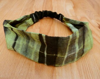 Headband in cotton with elastic