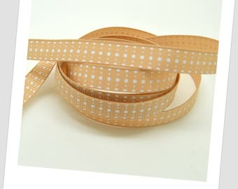 5 meters of Ribbon 9mm - style vintage Swiss dots