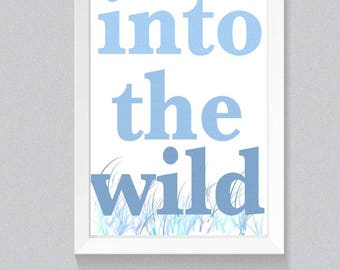 printable art words, printable art , printable art blue, printable art nursery