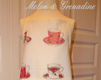 APRON CHILD - TEACUP SET - 6 YEARS