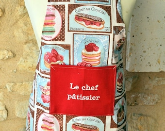 APRON CHILD 6/10 THE PASTRY CHEF