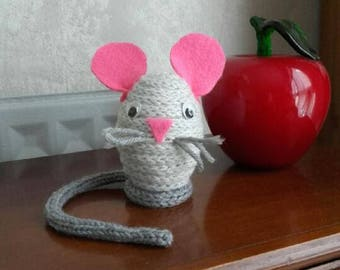Grisette, the small decorative mice to knitting