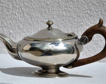 Christofle silver plate teapot
