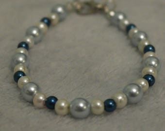 "Pearl bracelet ""Oceans of the World"""