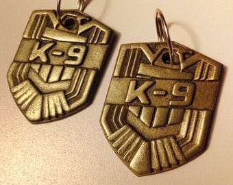 Mega-City K-9 Judge Badge