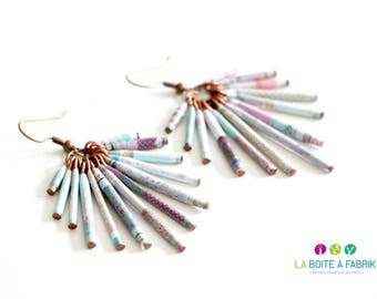"Earrings plume ""Pamela"" - fall/winter 2014"