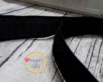 1 m velcro scratch 2cm in width color black seam