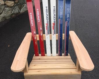 Ski Adirondack Chair
