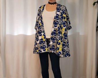 1 wax kimono jacket. HAND MADE