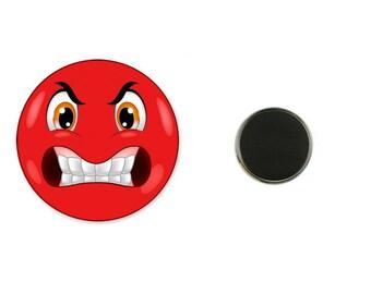 Furious Smil - 25 mm Magnet magnet