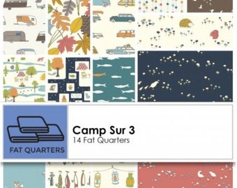 Camp Sur 3 fat quarter bundle from Birch Fabrics