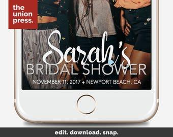 Bridal Shower Snapchat Filter - Bridal Shower Filter - Bridal Snapchat Filter - Bridal Shower Geofilter