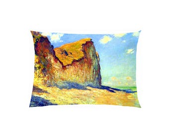 Pillow in satin reproduction painting fully customizable ref 506