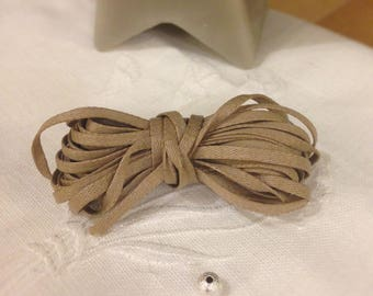 Soft Taupe cotton cord