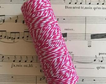 Baker Twine Flash Pink