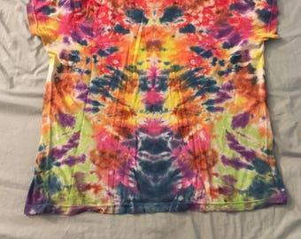Tie dye tee shirt medium