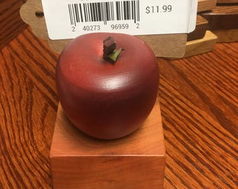 Amish Made Apple Note  Holder