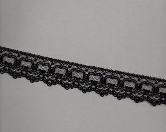 Special black lingerie lace wide 3.5 cm