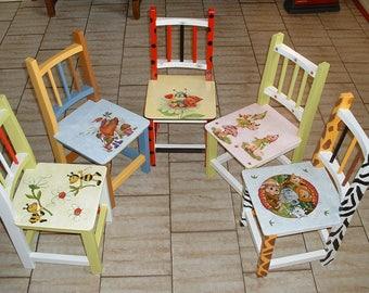 SMALL chair ENFANTou Reborn - deco craft