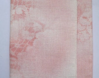 """Coupon 35 x 45 cm linen Newcastle 16 yarn """"candy pink"""" threads passion"""