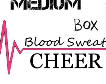 January Blood Sweat Cheer Medium Box
