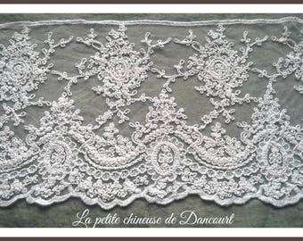Valentina white lace