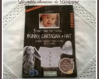 Rabbit, vest and hat set