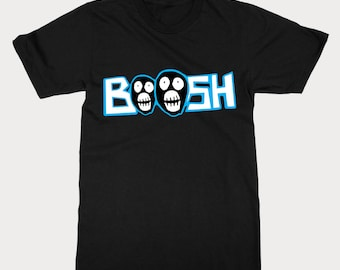 Funny Boosh T Shirt Inspired By The Mighty Boosh - Cool Mighty Boosh Tee Shirt Gift For The Mighty Boosh TV Show