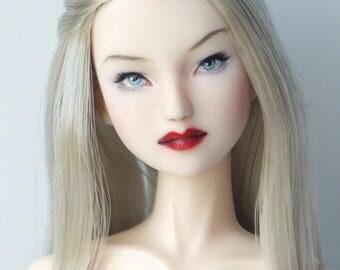 "OBITSU 1/6 Doll Custom ""Silver"" Head Sculpt Cy Girl Phicen Volks Kumik"