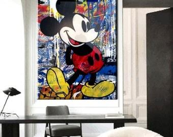 "Mr. Brainwash ""Mickey Mouse 2"""
