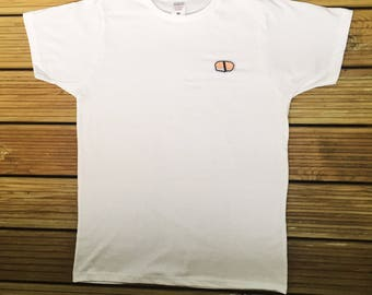 Salmon Nigiri Sushi Embroidered T-Shirt (Male & Female)