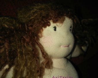 Waldorf doll made by hand