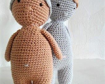 """Adorable cuddly """"plump little"""" handmade crochet"""