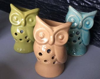 Mini colorful OWL burner