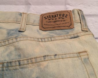 Signature by Levi Strauss jeans // Vintage Levi's // 90s jeans // 90s Levi's // custom Levi's