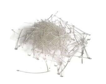 Nail head pin silver balls 50 x 50 mm