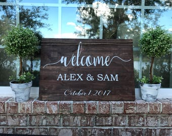 Weddings signs custom decor rustic wedding wooden signs vinyl lettering farmhouse style wedding decorations large signs rustic trends gifts