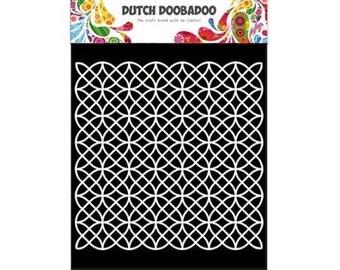 Stenciled Dutch Doobadoo Mask Geometric A5 new stencil Art