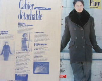 BOSS Modes & work jacket with collar faux fur woman October 93