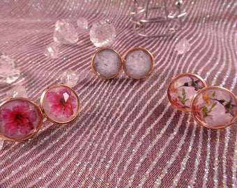 "Earrings ""rosegold"" Creat'Yon - simple and beautiful."