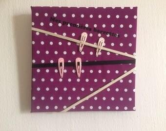 Table wear hair clips