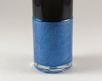 Blue and You nail polish indie holographic glitter