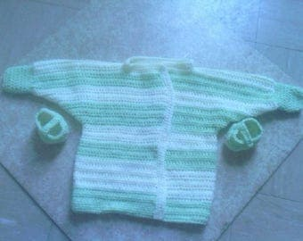 Set top and bottons, mixed, 1 to 3 months baby