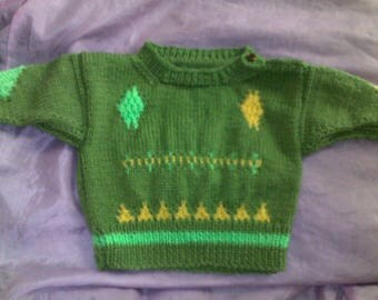 Nice sweater for baby from 6-9 months mixed