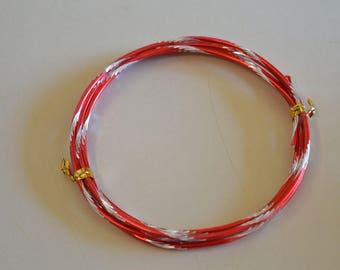 Zebra red aluminum wire